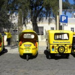 Havana taxi stand