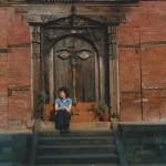 Laurie at old Palace, Kathmandu