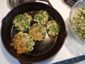 cauliflower fritter recipe