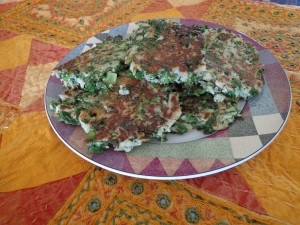 Palestinian pancakes