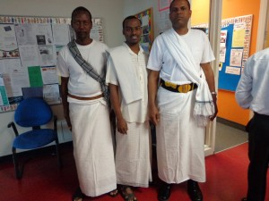 Men wearing the futa- Somalia