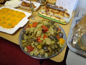 dolma- vegetables stuffed with rice- Iraq