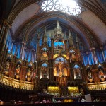 Notre Dame Bascilca, Old Montreal