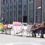 Old Montreal horse and carriage